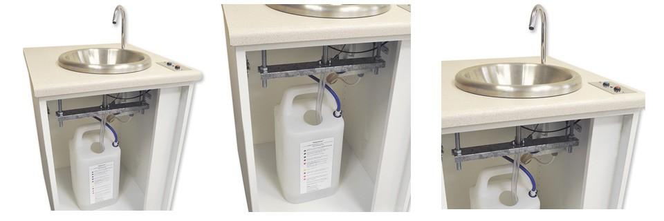 Modelos de lavamanos port tiles aut nomos - Lavamanos sin instalacion ...